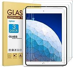 apiker [3 Unidades Protector de Pantalla Compatible con iPad Air 3 (10.5 Pulgadas2019), iPad Pro 10.5 Pulgadas(2017), Cristal Vidrio Templado [9H Dureza] [Alta Definicion] [2.5D Round Edge]
