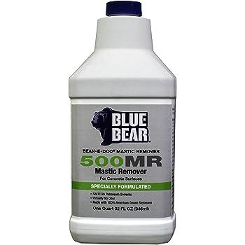 BLUE BEAR 500MR Mastic Remover for Concrete Quart