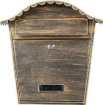XJYDS Wandmontage Gegalvaniseerd Staal Weerbestendige Postbakken Waterdichte Wandmontage Mailbox Europese Villa Postbus Bu...