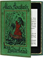 Kindle Oasis Case (All Versions) Hardback Book Cover Style (Alice in Wonderland)