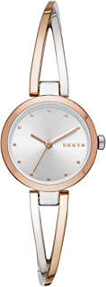DKNY Women's Quartz Watch analog Display and Stainless Steel Strap, NY2791