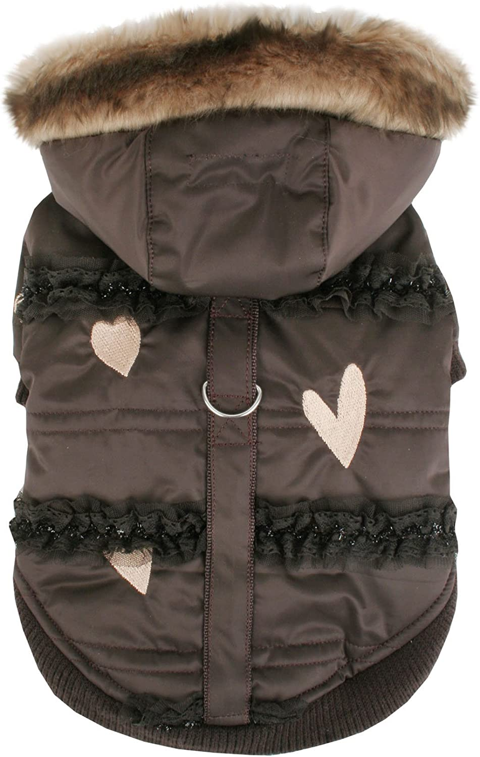 Pinkaholic It is very popular New York Innocence Winter for Large Brown Dogs Coat Direct stock discount