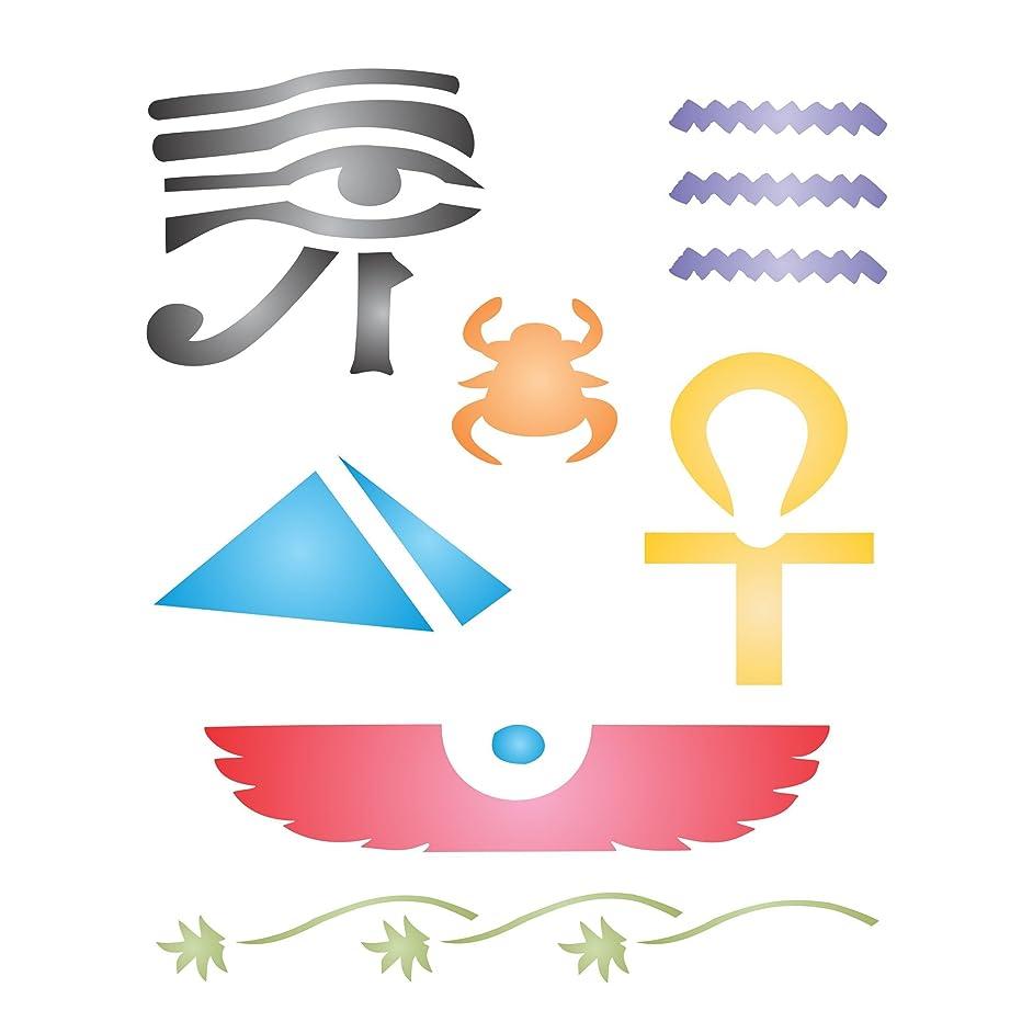EGYPTIAN STENCIL (size: 5