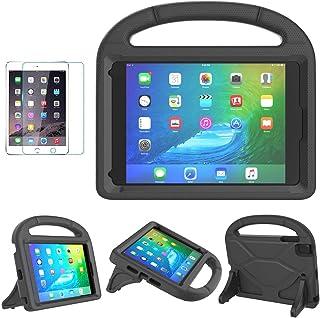 جراب iPad Mini 1/2/3/4/5 للأطفال، جراب SUPLIK متين ومقاوم للصدمات مع واقي شاشة لجهاز Apple iPad Mini 5th (2019)، الجيل الر...