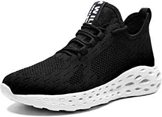 [Wrezatro] スニーカー メンズシューズウォーキングジョギング通気軽量ランニング靴男の子運動テニス靴トレーニングシューズスポーツ靴