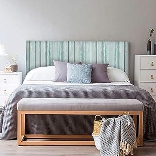 setecientosgramos Cabecero Cama PVC | LigthBlue | Varias Medidas | Fácil colocación | Decoración Dormitorio (150x60cm)