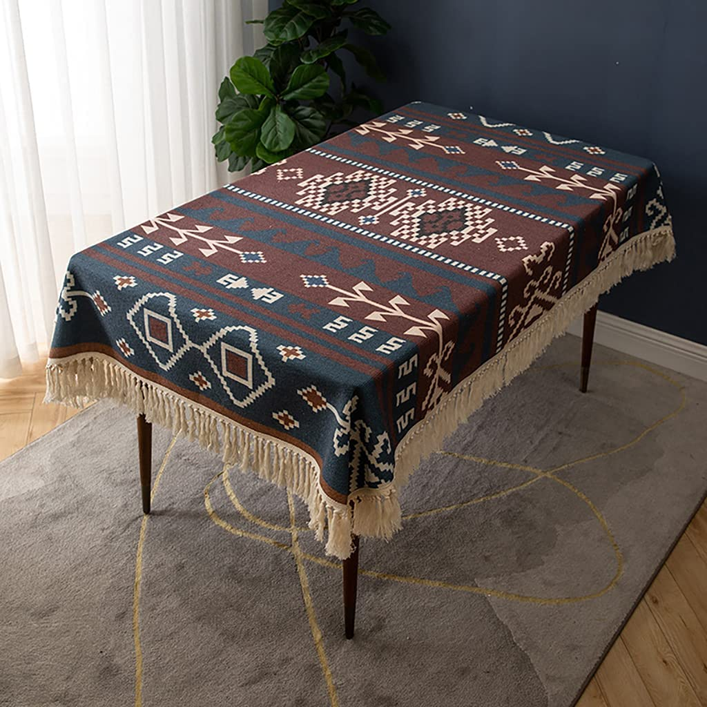 Nashville-Davidson Mall WCCCW Rectangle Stitching Tassel Tablecloth trust Design Washable Cot