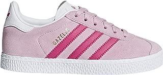 adidas Originals Gazelle C Clear Pink Suede Junior Trainers Shoes