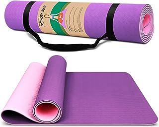 Dralegend Yoga Mat Exercise Fitness Mat - High Density...