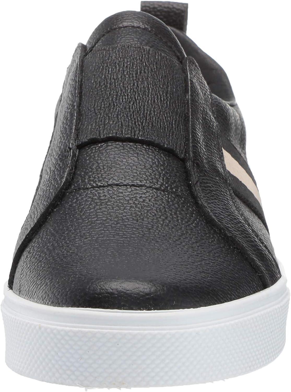 KAANAS Womens Positano Slip on Elastic Leather Fashion Sneaker
