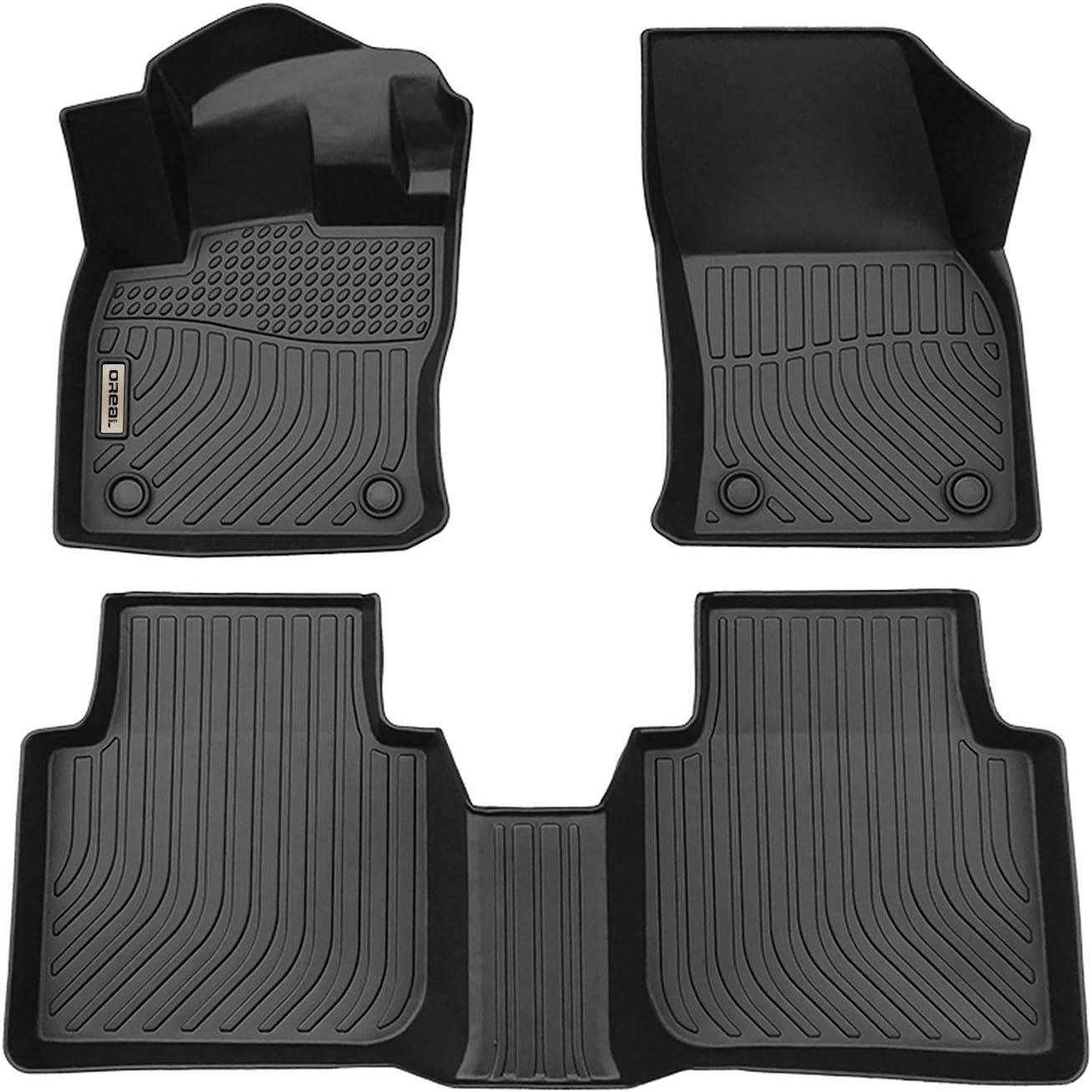 orealtrend Black Floor Mats Liners Popular standard for Replacement Tiguan 2 Low price 2018