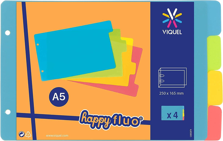 Sale item Viquel Dividers for Bristol Index Cards Max 66% OFF cm 12.5 Neo Plastic x 20