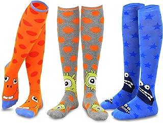 TeeHee Novelty Cotton Knee High Fun Socks