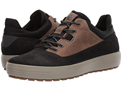 ECCO Sport Soft 7 Tred Terrain Hydromax Low (Black/Navajo Brown) Men