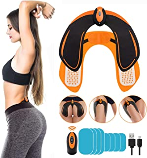 Butt Hip Trainer, Abs Stimulator - Automatic Fitness Enhancer, 6 Modes & 6 Intensity Levels - Lose Excess Fat, Shape The H...