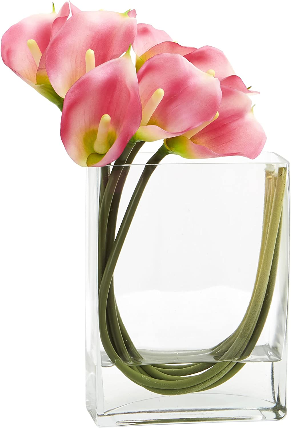 Save money Nearly Natural Calla Lily Mail order cheap in 12