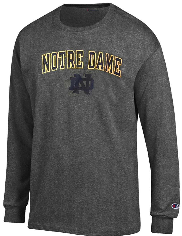 Gear for Sports Notre Dame Fighting Irish Charcoal Alumni Champion Long Sleeve T Shirt