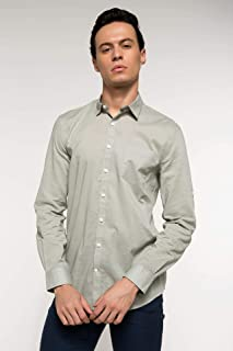 DeFacto Polo Yaka Slim Fit Uzun Kollu Gömlek