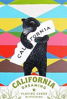California Dreaming Playing Cards (California Gifts, Novelty Playing Cards, California Deck of Cards)