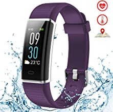 Kybeco Fitness Tracker Color Screen Weather Waterproof Activity Tracker Heart Rate Monitor Calories Counter Sleep Monitor Smart Bracelet Pedometer Wearable Wristband for Kids Women Men