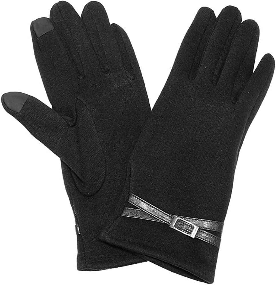 Women's Screen Touch Glove Excellent for Winter Cold Weather One Size