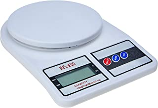 Balança Digital de Cozinha, SF-400, Até 10 kg, Escala 1 grama