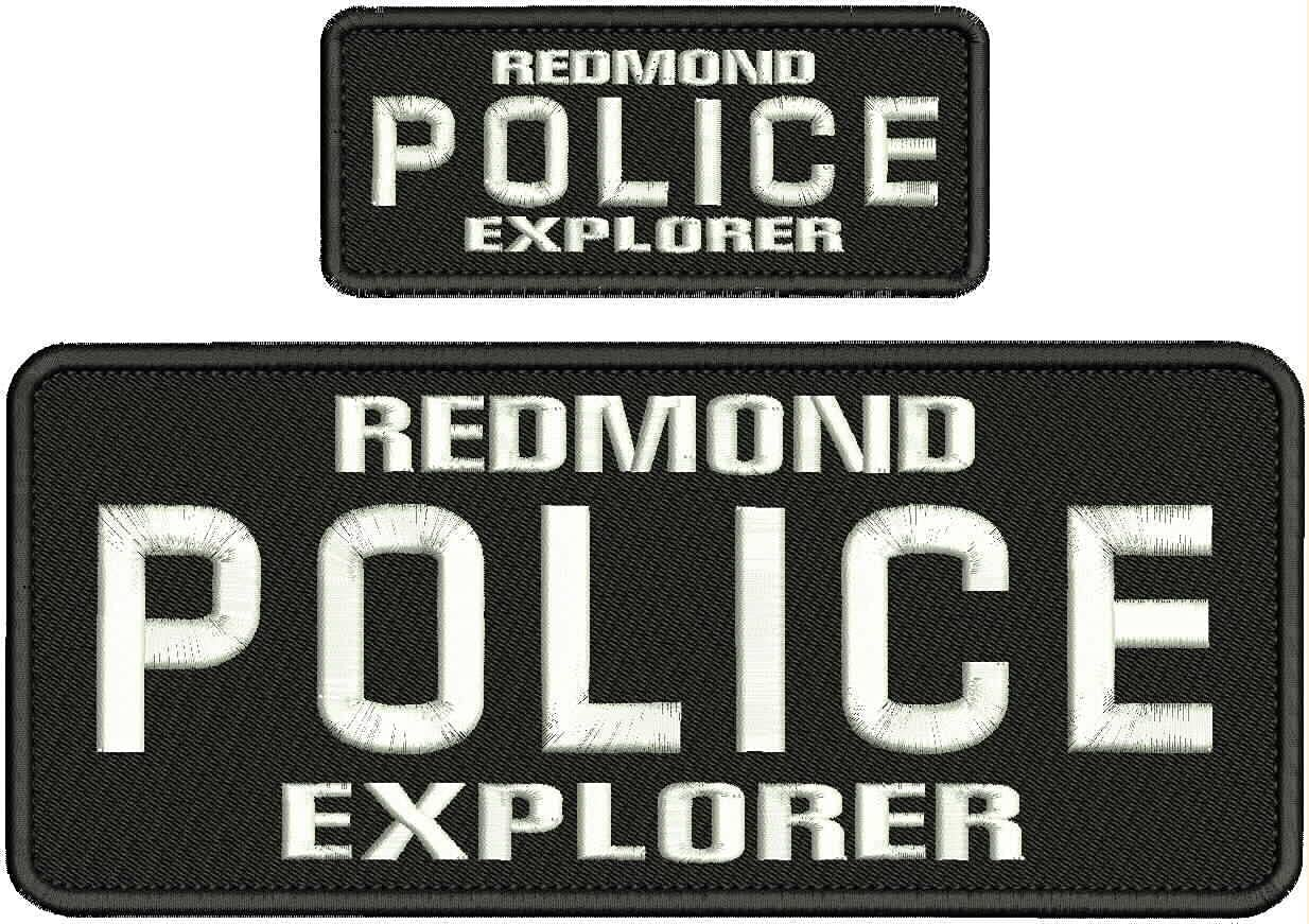 National uniform free shipping Embroidered Patch - Patches for Shipping included Police Explo Man Redmond Women