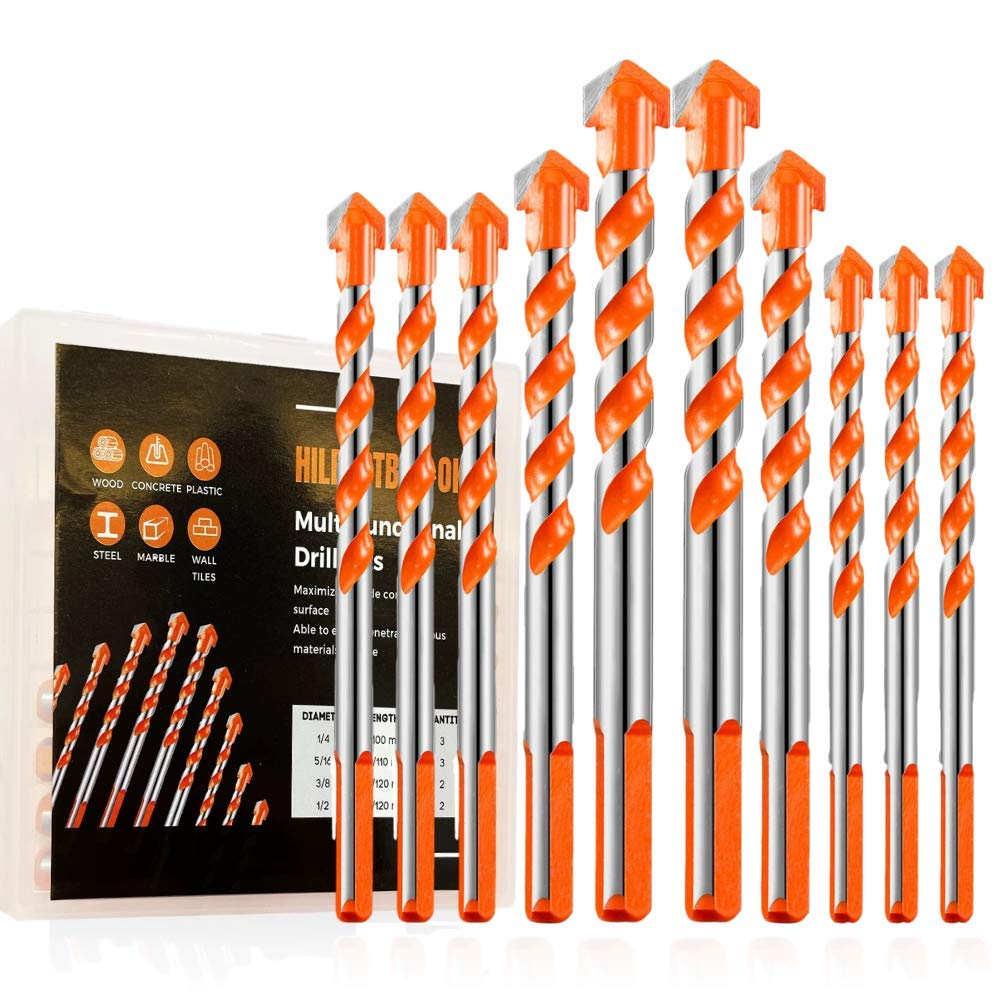 10Pcs Popular standard Ultimate Drill Credence Multifunctional Bits
