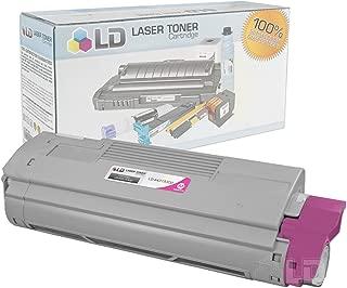 LD Compatible Toner Cartridge Replacement for Okidata C610 Series 44315302 (Magenta)