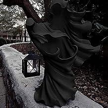 Ububiko Halloween decoratie, hel boodschapper met lantaarn hars standbeeld schedel decoratieve botten horror Halloween tui...