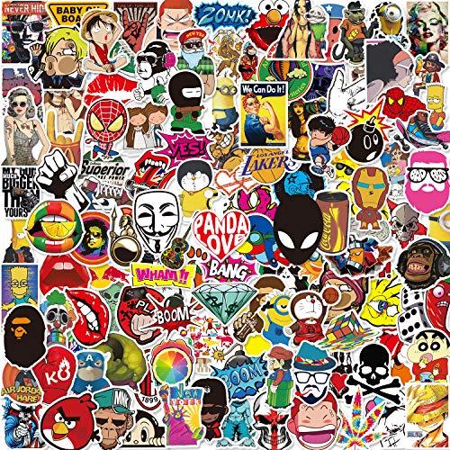 Lot Autocollant [150-PCS] Q-Window Graffiti Stickers Vinyle Enfants Autocollants pour Voiture Tuning Moto Ps4 Livre Vélo Iphone Scrapbooking Ordinateur Xbox One Bebe Valise Macbook Bumper Bomb Sticker