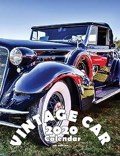 Vintage Car 2020 Calendar (UK Edition)