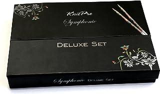 KnitPro Deluxe Set-agujas aguja puntas de madera sinfonía Art 20613