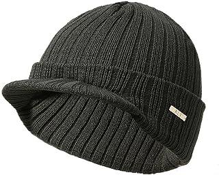 Hmlai Men Women Knit Hats Baggy Winter Warm Wool Crochet Ski Beanie Skull Slouchy Cap
