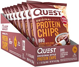 Quest BBQ Nutrition Protein Chips, 32 grams (Pack of 8)