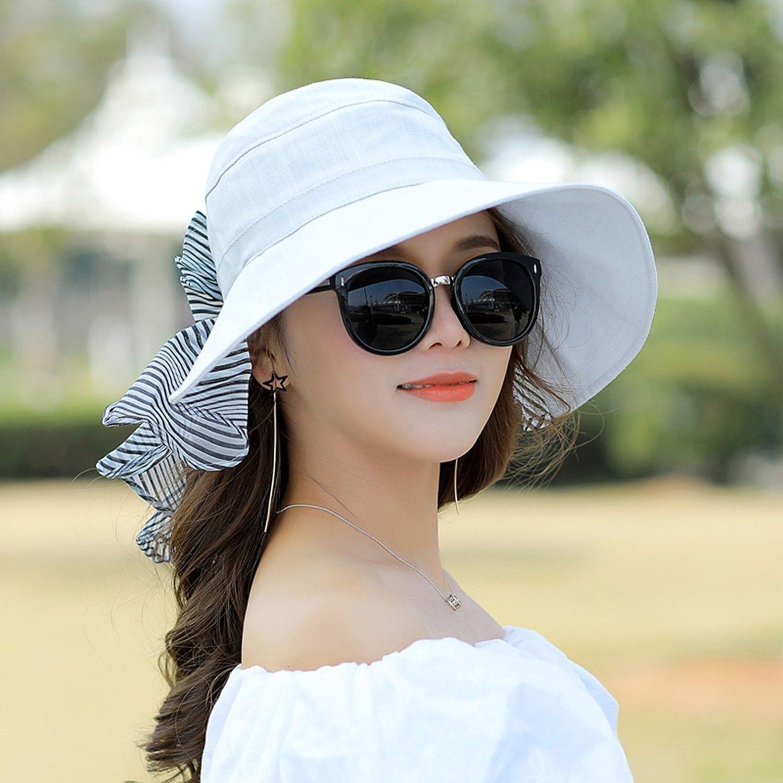 SSBY Summer Sunshade Cap Riding Outdoor Sunscreen Folding Beach Suncap Big Eaves Against Uv Hats