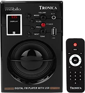 Tronica MOBILO MP3/FM Player with Speaker with Rechargeable Battery