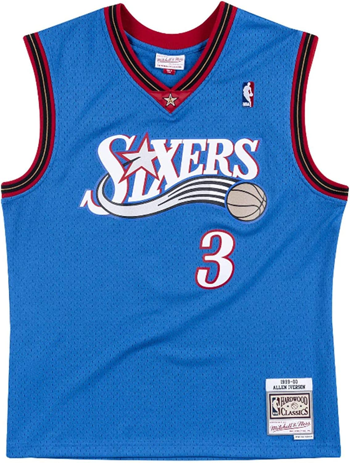 Mitchell and Ness Iverson Royal #3 Sixers 1999 Swingman Jersey (18016-P76ROYA99AIV)