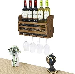 Best wall hanging wine bottle holder Reviews
