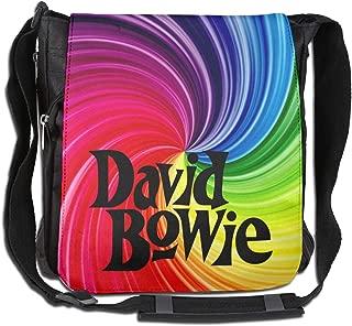 Messenger Bag - David Bowie Logo Shoulder Bag For All-Purpose Use