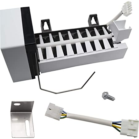 D7824706Q Refrigerator Ice Maker Replacement for Maytag MZD2665HEW Compatible with W10190978 Icemaker