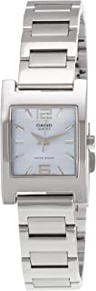 Casio Womens Quartz Watch, Analog Display and Stainless Steel Strap LTP-1283D-2ADF