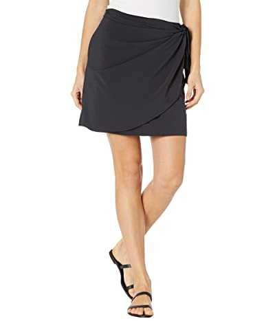 Toad&Co Sunkissed Wrap Skirt (Black) Women