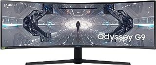 SAMSUNG 49-inch Odyssey G9 - QHD, 240hz, 1000R Curved Gaming Monitor, 1ms, NVIDIA G-SYNC & FreeSync, QLED