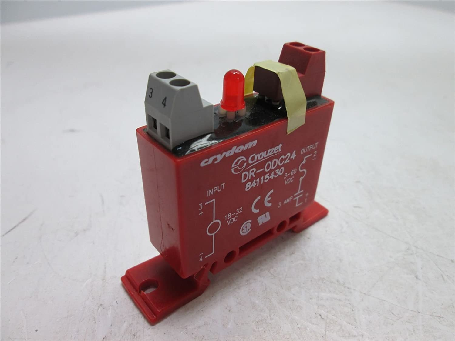 CRYDOM DR-ODC24 DR Series 60 V 3 A Color DC Red O Topics on Cheap SALE Start TV DIN Rail Mount