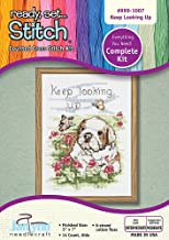 The Janlynn Corporation Ready, Set.Stitch Keep Looking Up Counted Cross Stitch Kit