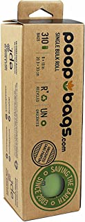 PoopBags Single Bulk Roll Poop