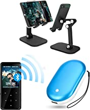 $65 » iLoxin MP3 Player with Bluetooth 4.2 & Hand Warmer Rechargeable & Angle Height Adjustable Tablet Stand & Phone Stand