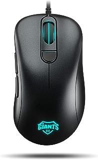Giants Gear X60 - OZGIAX60 - Ratón Gaming, 12000 DPI, RGB, Color Negro