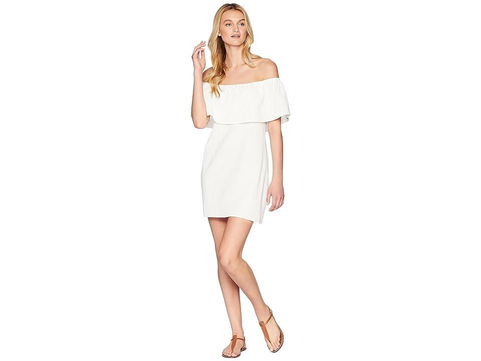 Show Me Your Mumu Can Can Dress (White Beachcomb) Women